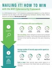 Nailing it! How to win with the NIST Cybersecurity Framework