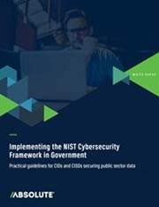Implementing the NIST Cybersecurity Framework in Government