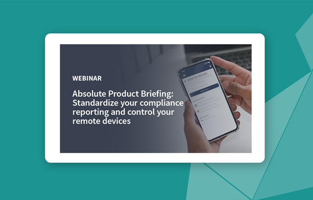 Standardize your compliance reporting and control your remote devices