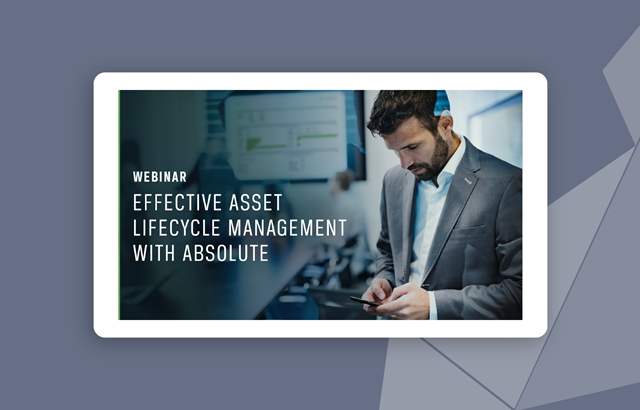 Effective Asset Lifecycle Management